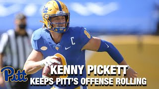 Pitt QB Kenny Pickett Keeps Pitt's Offense Rolling