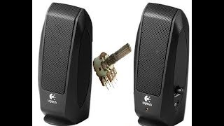 Ta'mirlash acoustics Logitech 100 S
