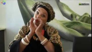 Celina Pereira conta a estória de Blimundo - exclusivo Sapo.cv