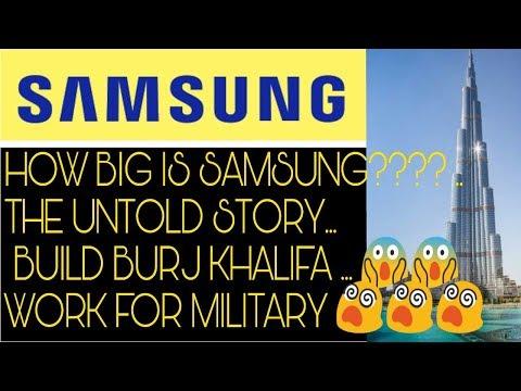 Samsung Success Story | History | Burj Khalifa | Smart Phones | Lee | Tank | Galaxy | Launch[Hindi]