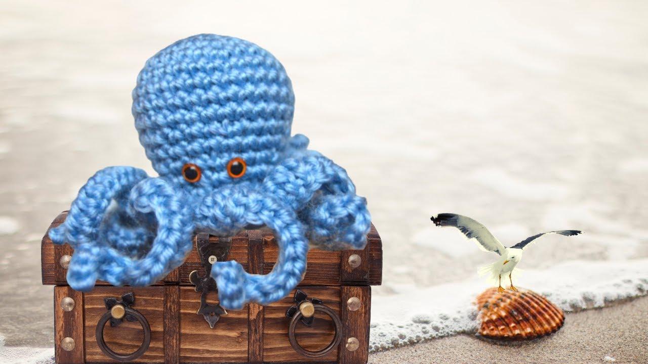 Pulpo Amigurumi [TUTORIAL] - YouTube