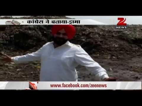 Navjot Singh Sidhu goes on fast for Amritsar