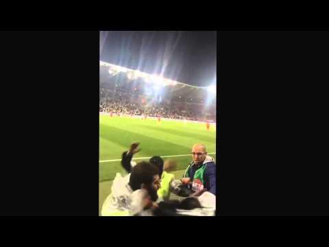 Algerie Bagarre Dans Le Stade  De Genève -Lilkam