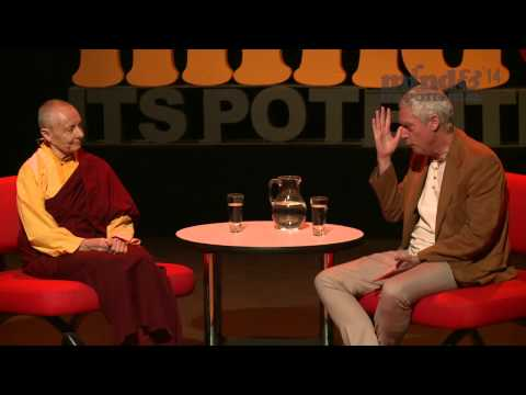 In conversation: Jetsunma Tenzin Palmo and B. Alan Wallace at Mind & Its Potential 2014