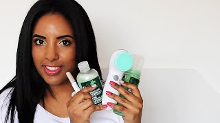 New Skin Care Routine - Body Shop TEA TREE Oil Products | South African Beauty Blogger ♡