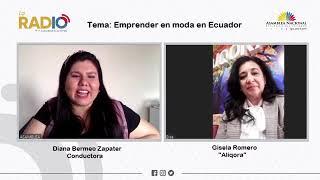 Vídeo de entrevista a Gisela Romero, diseñadora de moda de Aliqora