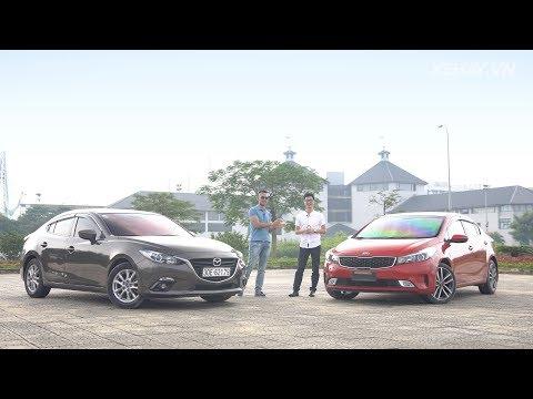 So sánh Mazda3 vs Kia Cerato: cuộc chiến Nhật - Hàn |XEHAY.VN|
