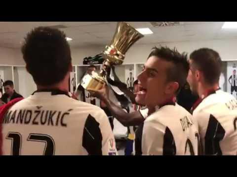 """Juventus, festa per la Coppa Italia: """"Ce ne andiamo a Cardiff"""""""