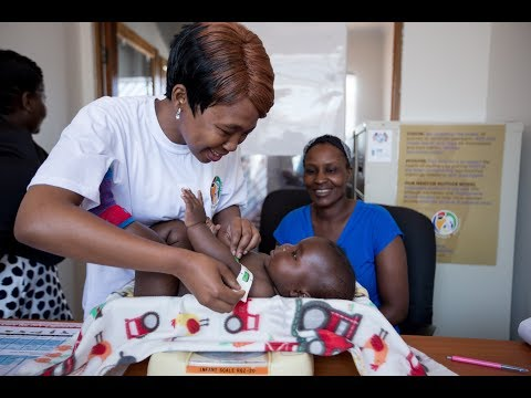 m2m Mentor Mother Denise and Her Baby, Siyamthanda