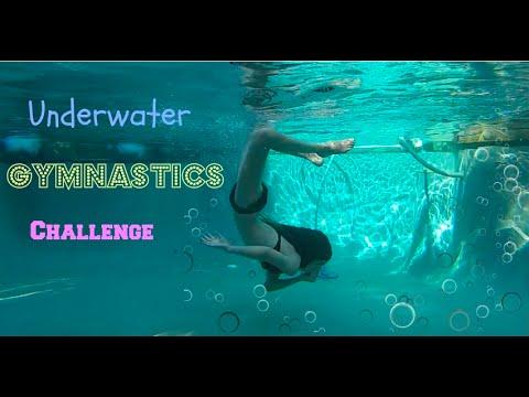 Underwater Gymnastics Challenge