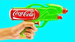 Comment Fabriquer un Pistolet Secret Avec Une Cannette de Coca-Cola ?