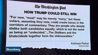 The Unknowables Who Could Help Trump Win