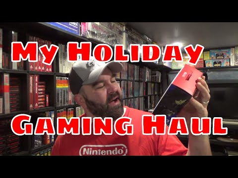 My Holiday Gaming Haul