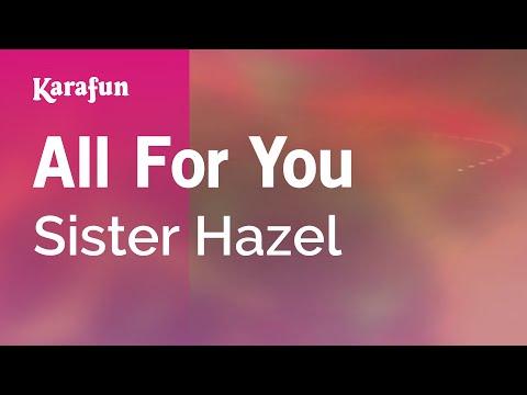 Karaoke All For You - Sister Hazel *