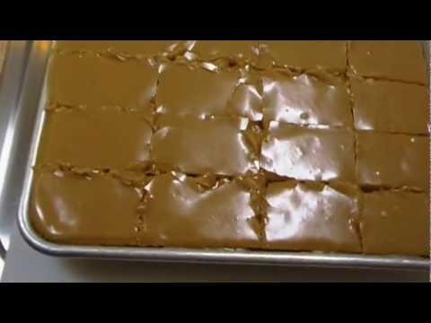 Peanut Butter Sheet Cake Recipe ~ Noreen's Kitchen