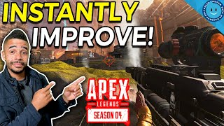 5 Tips to INSTANTLY Accelerate YOUR Performance in Apex Legends Season 4!
