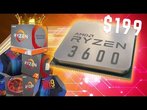 Ryzen 5 3600 WRECKS The Competition