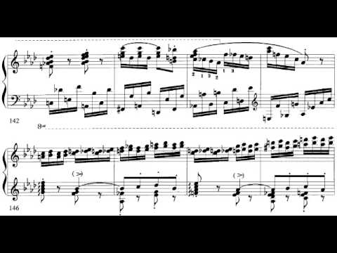 Hungarian Rhapsody #2 with Sheet Music (Hamelin) [2/2]