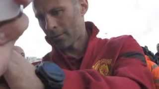 Meeting Ryan Giggs