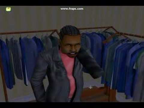 Sims 2 Trapped in the Closet
