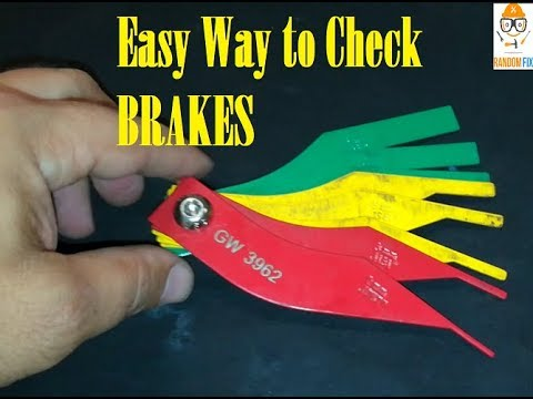 ▶️Easy to use Brake Lining Thickness Gauge, great for home or shop