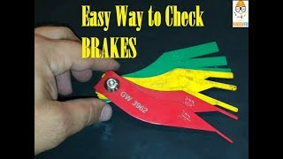 ▶️Easy to use Brake Lining Thickness Gauge, great for home or shop.