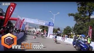 Stage 4 crash Yunnan 2015