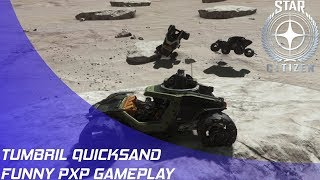 Star Citizen: Cyclone Quicksand on Ita (Funny)