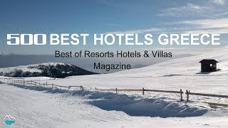 Five(5) Unique Winter Hotels in Greece