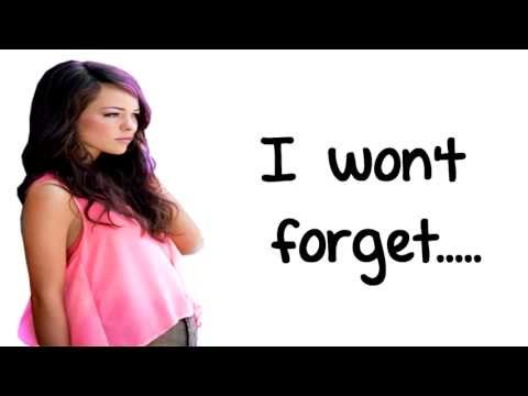 Forget You - Cady Groves (LYRICS ON SCREEN)