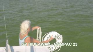How To Install and Use a Throwable Life Ring - Compac 23 Sailboat