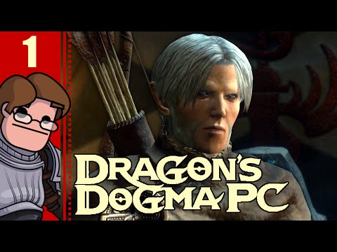 Let's Play Dragon's Dogma: Dark Arisen PC Part 1 - A New Strider is Arisen