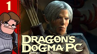 Let's Play Dragon's Dogma: Dark Arisen PC Part 1 - A New Strider is Arisen
