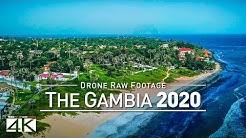 【4K】Drone RAW Footage   This is GAMBIA 2020   Serekunda Banjul   UltraHD Stock Video
