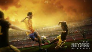 Neymar   Barcelona   Farewell Football Wallpaper   GraphicsD
