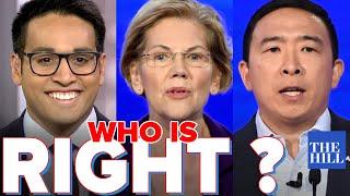 Saagar Enjeti: Warren versus Yang. Who is right?