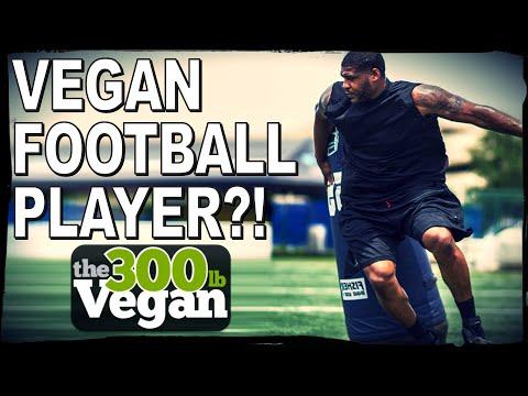 300 lb VEGAN NFL Football Player?!   David Carter Interview