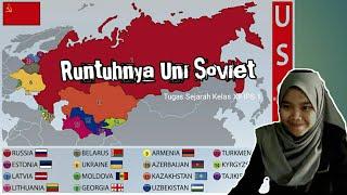 Runtuhnya Uni Soviet Mikhail Gorbachev glasnot dan perestroika