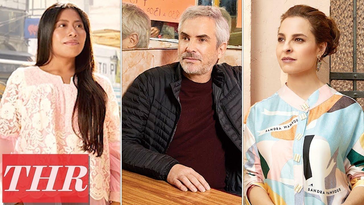 Alfonso Cuarón, Yalitza Aparicio, Marina de Tavira: Behind The Scenes Cover Shoot | THR