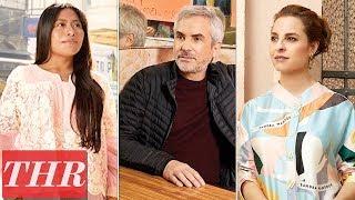 Alfonso Cuarón, Yalitza Aparicio, Marina de Tavira: Behind The Scenes Cover Shoot   THR