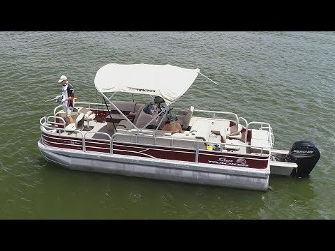 Fox Sports Outdoors SouthWEST #29 - 2018 Pontoon Fishing Texas For Striper/Crappie