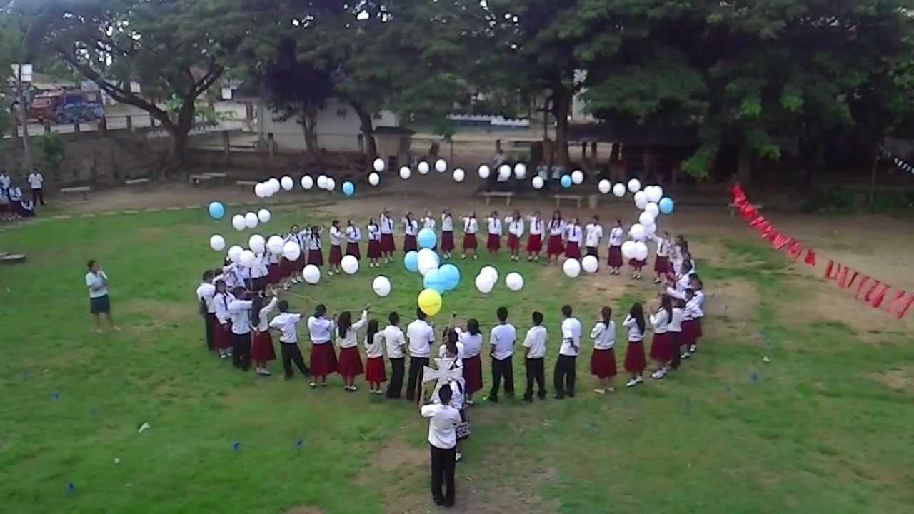 SNI Living Rosary  Balloon Launch 2012  YouTube