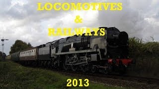 LOCOMOTIVES & RAILWAYS - 2013