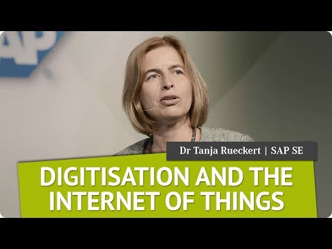 Digitisation and the IoT | Dr Tanja Rueckert, SAP | Global Female Leaders 2017