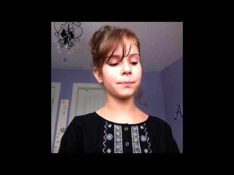 Amazing 11 Year Old Sings Titanium