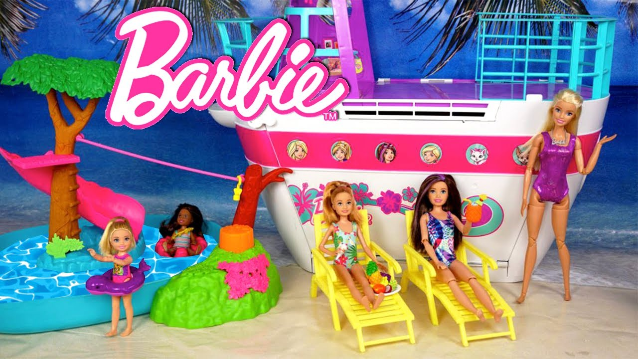 Barbie Sisters Travel Routine for Chelsea's Birthday !