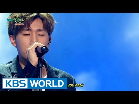 Kim SungKyu - The Answer | 김성규 - 너여야만 해 [Music Bank HOT Stage / 2015.05.29]