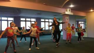 ДЕТСКИЙ ФИТНЕС в Fitness Life, танец