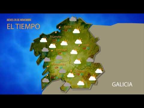Consulta la previsión del tiempo en Ourense para este jueves