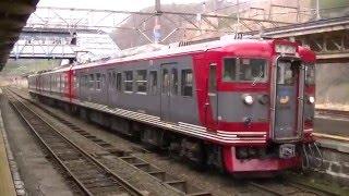 妙高高原駅 E653系 、えちごトキめき鉄道・しなの鉄道
